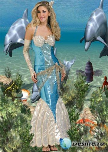 Костюм женский - Царица морская