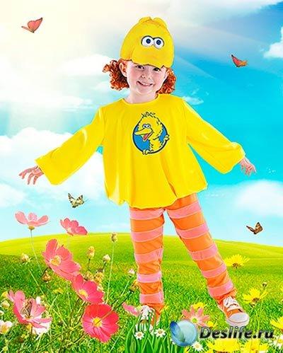 Детский фотокостюм - Солнечная птичка