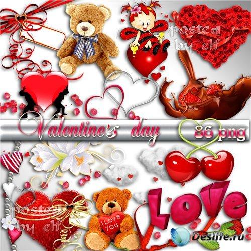 День Влюбленных - PNG клипарт