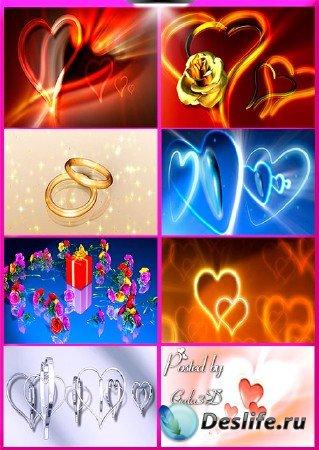 Футажи свадебные: Свадебные фоны