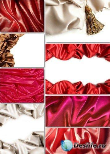 Растровые фоны - Красная ткань