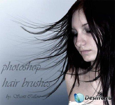Кисти красивые волосы