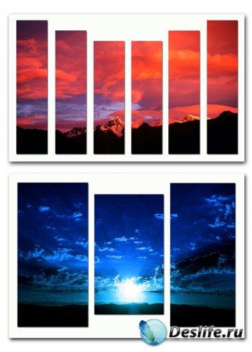 Диптихи, триптихи и полиптихи - Небесные просторы
