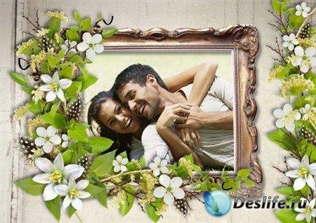 Рамка для фотошопа - Весеннее настроение