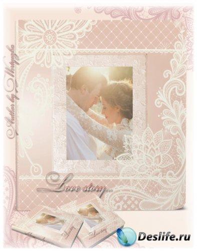 Фотокнига для оформления свадебных фото, романтичных фото - Красота, нежнос ...