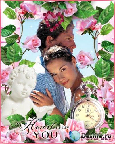 Романтическая рамка - Время любить
