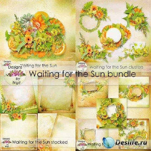 Набор для скрапбукинга - В предвкушении солнца