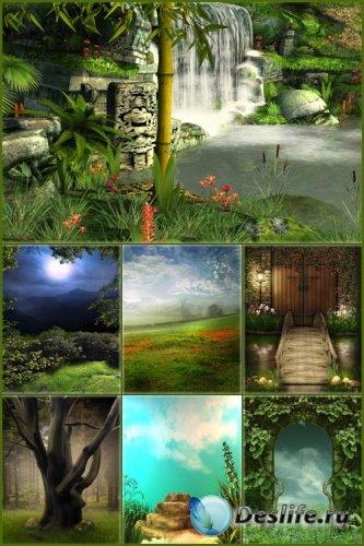 Фоны для фотошопа - Сказочная фантазия 4