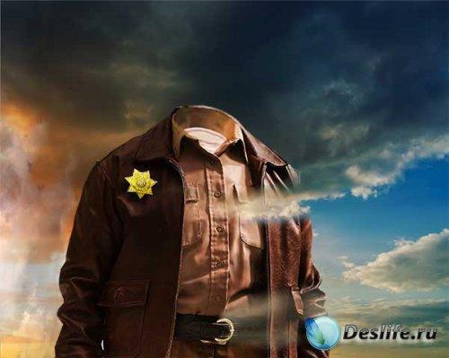 Костюм для мужчин - Громила шериф