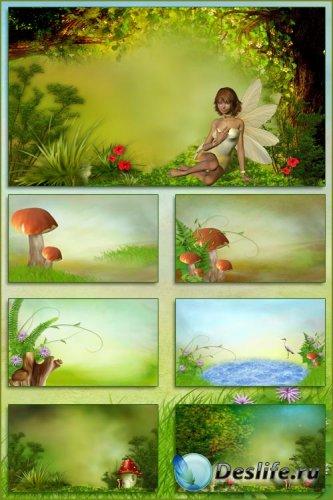 Детские фоны - Сказочный мир