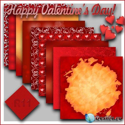 Фоны - Валентинов день