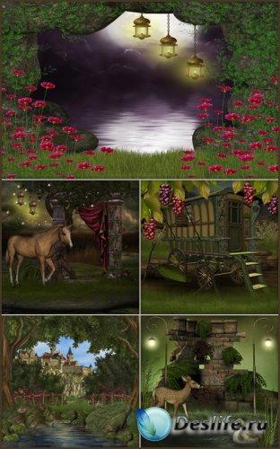 Фоны для фотошопа - Сказочная фантазия 5