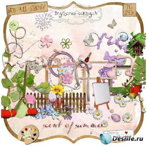 Симпатичный скрап-набор - Летние запахи