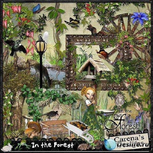 Набор для скрапбукинга - В лесу