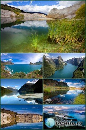 Обои красивые пейзажи - Новая Зеландия