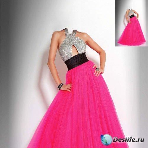 Женский костюм - В красивом платье