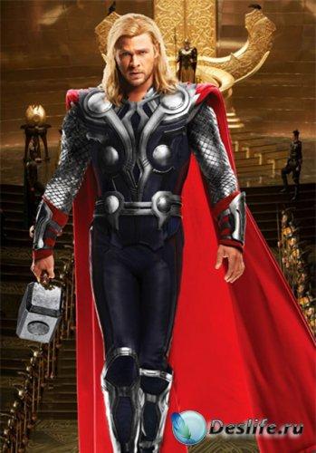 Костюм мужской - Верховный бог Тор
