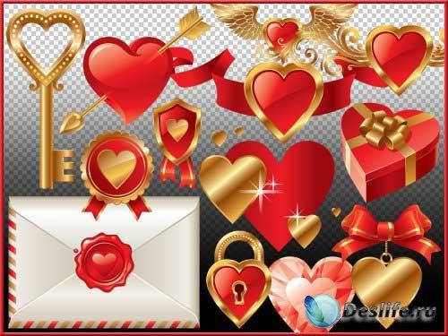 Романтический скрап-набор - Love desires