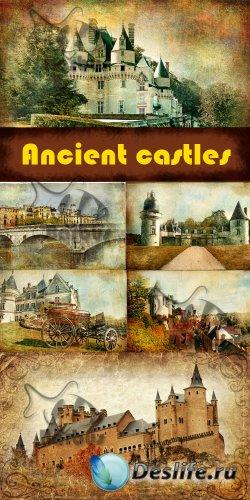 Ancient castles - photo grunge / Древние замки - гранжевые фото