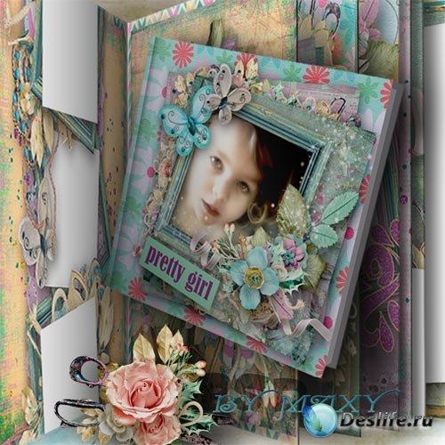Детский фотоальбом - Самая лучшая девочка