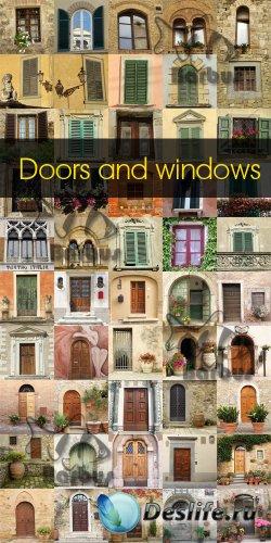 Doors and windows / Окна и двери - Photo stoсk