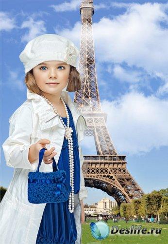 Костюм детский - Парижанка