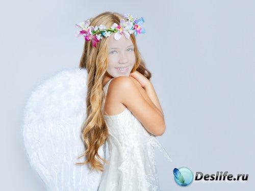 Костюм для Photoshop - Ангельская девочка