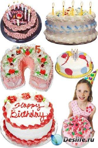 Фотосток: Торт на День Рождения