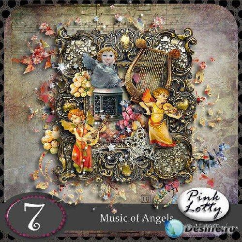 Набор для скрапбукинга - Мелодия ангелов