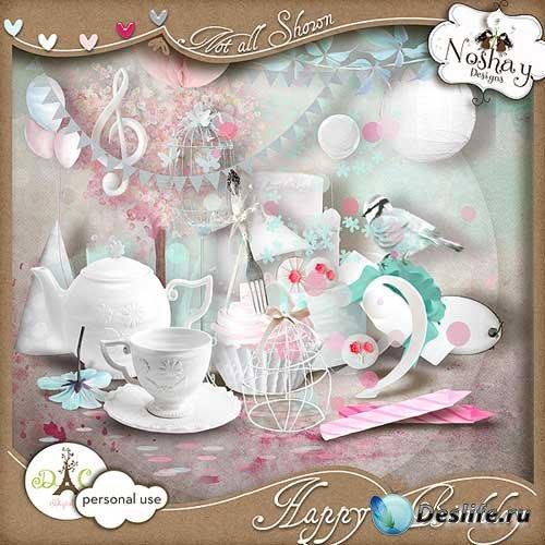 Праздничный скрап-набор - Счастливый День Рождения