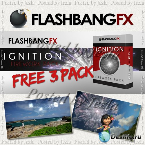 Футажи: Ignition Fireworks 19 Pack (FlashBangFX)