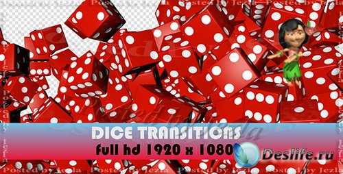 Футажи: Roll The Dice Transitions (7-Pack)
