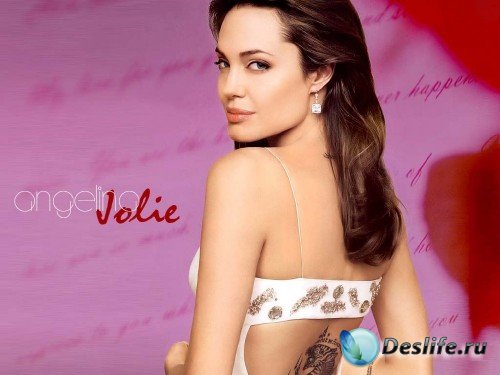 Обои для рабочего стола с Angelina Jolie / Анджелина Джоли