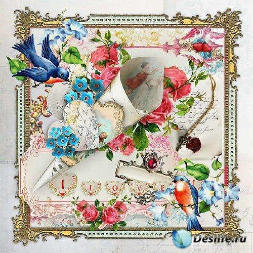 Скрап-комплект - Romance and Love