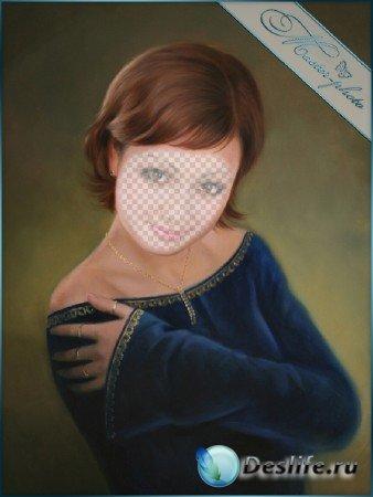 Женский костюм для фотошопа - Милая Анжелика