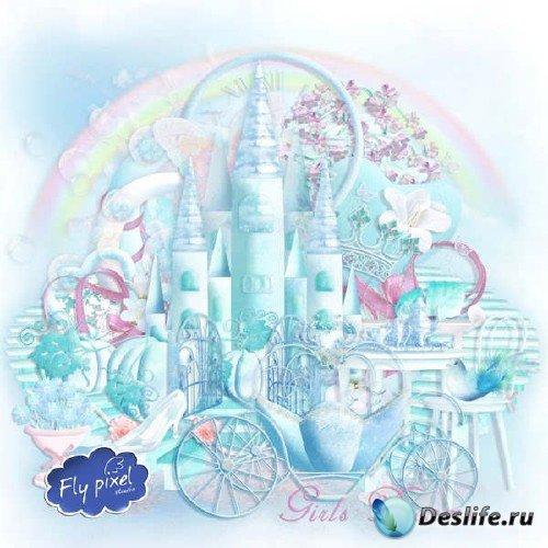 Комплект для скрапбукинга - Girls Dreams