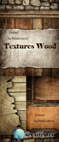 Текстуры дерева / Textures wood - Stock photo