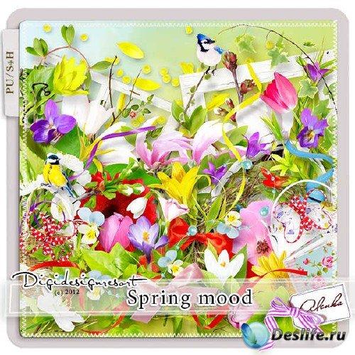 Скрап-комплект - Spring Mood