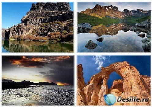 Горные пейзажи (Mountains Wallpapers)