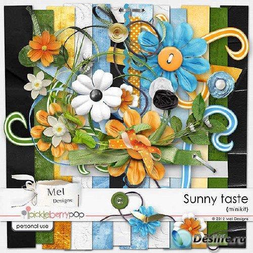 Цифровой скрап-набор - Sunny Taste