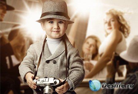 Костюм детский - Репортёр