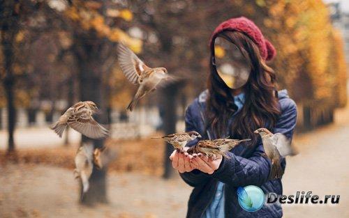 Костюм для фото - Воробьи на руках
