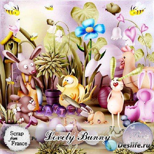 Цифровой скрап-набор - Lovely Bunny