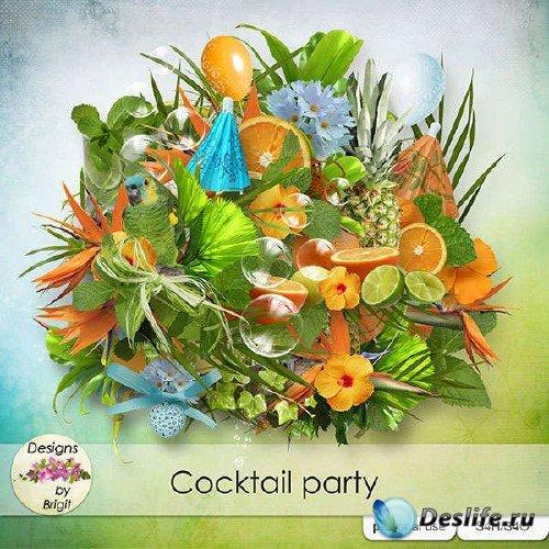 Фруктовый скрап-комплект - Cocktail party
