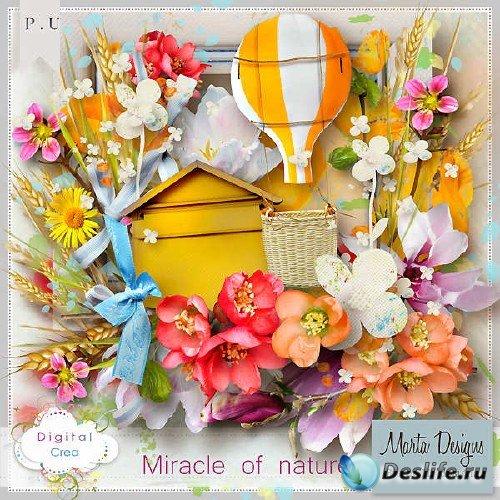 Небольшой скрап-комплект - Miracle of nature