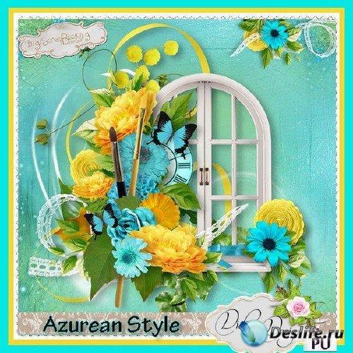 Скрап-комплект - Azurean Style