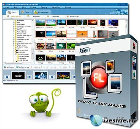 AnvSoft Photo Flash Maker Pro 5.51 Rus