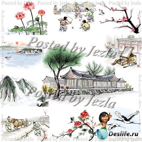 PSD Исходники - Oriental Theme