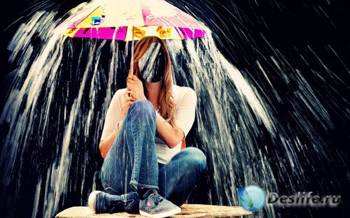 Костюм для фото - Под проливным дождём