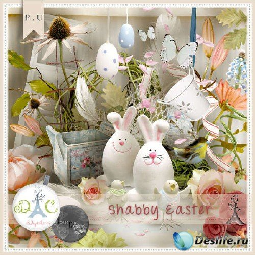Цифровой скрап-набор - Shabby Easter